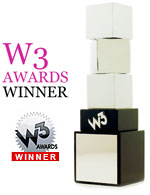 W3 Awards Winner